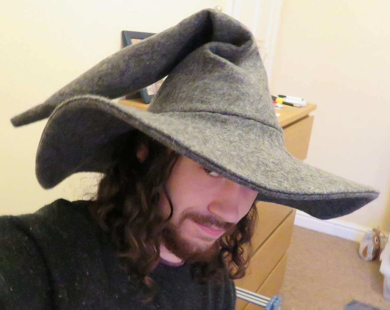 Making A Gandalf The Grey Style Wizards Hat  a10ac9c54461